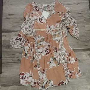 Umgee floral dress